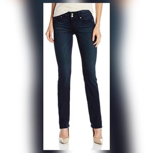 Paige high rise hidden Hills straight jeans